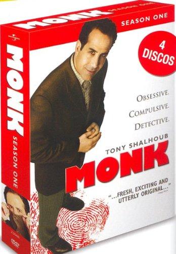 Monk (1ª temporada) [DVD]