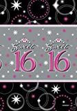 Amscan International Sweet 16 Paper Table Cover