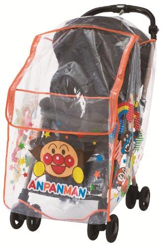 アガツマ アンパンマン ベビーカー用レインカバー
