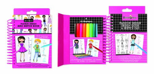 Fashion Angels - Fashion Design Mini Sketch Book - 1