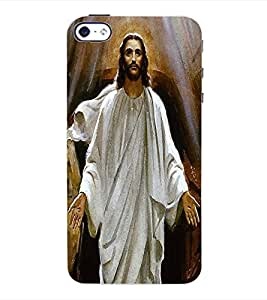 ColourCraft Lord Jesus Back Case Cover for APPLE IPHONE 4