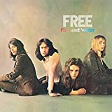 FREE FIRE AND WATER VINYL LP[PINK RIM PALM TREE LABEL][ILPS9120]1970