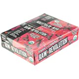 Raw Revolution, Raw Revolution, Organic Live Food Bar, Raspberry & Chocolate, 12 Bars, 2.2 oz (62 g) Each