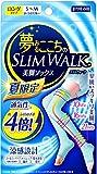 夢みるここちのスリムウォーク キュッとひきしめ涼感設計 S-Mサイズ ターコイズブルー