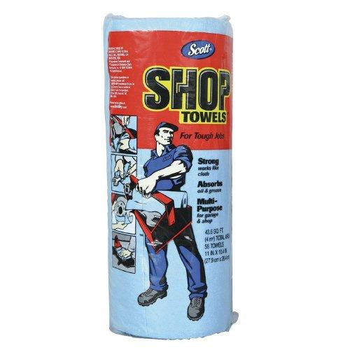 Scott 75130 Shop Towels, 55 Towels (Blue Shop Towels compare prices)