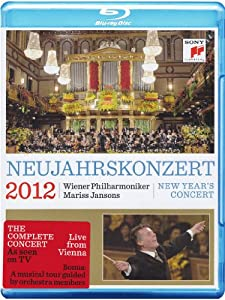 Year's Concert: 2012 - Vienna Philharmonic (Jansons) [Blu-ray] [Region Free] from Sony Classical