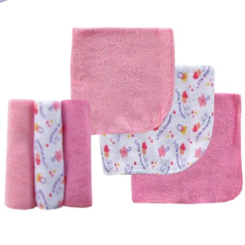 Luvable Friends 6 Pack Washcloths
