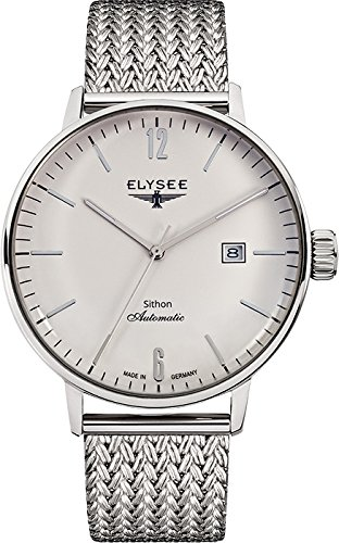 ELYSEE Made in Germany Sithon Automatik Men's 42mm Automatic Mesh Watch 13280M