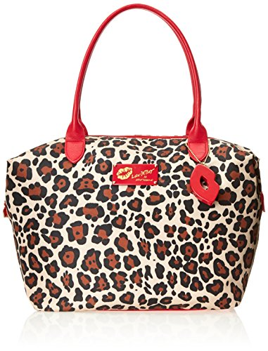 LUV BETSEY by Betsey Johnson Printed Tote Handbag, Leopard, One Size