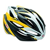 "Bell Fahrradhelm Road ARRAY 10, Black/Yellow, M (55-59cm), 210025005von ""Bell"""
