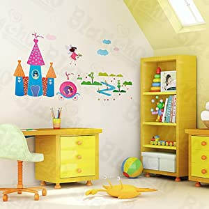 Fairy tale wall decals stickers appliques for Home decorations amazon