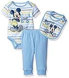Disney Baby Boys Mickey Mouse 3 Piece Layette Set