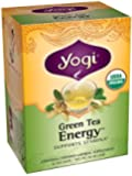 Yogi Energy Green Tea, 16 Tea Bags (Pack of 6)