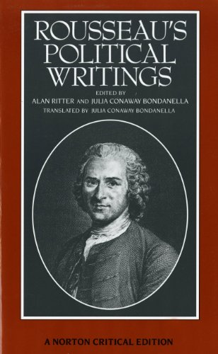 Rousseau's Political Writings: Discourse on Inequality,...