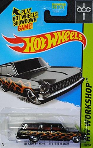 2014 Hot Wheels '64 Chevy Nova Station Wagon 236/250 Toys R Us Exclusive