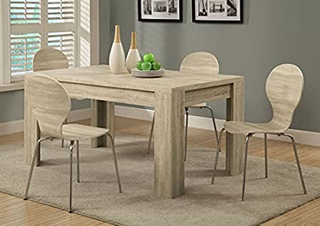 "NATURAL RECLAIMED-LOOK 36""X 60"" DINING TABLE (SIZE: 60L X 36W X 30H)"