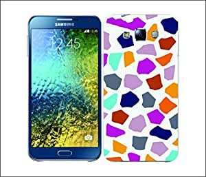 Galaxy Printed 2430 Multicoloured Animal Girraffe Hard Cover for Samsung ACE 3 (7272)