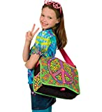 Alex® Toys Decorate-Your-Own Peace and Love Messenger Bag