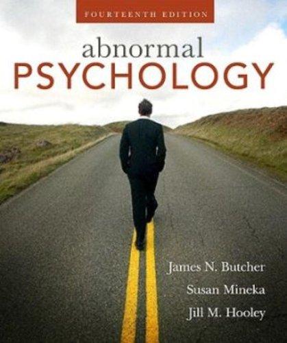 Abnormal Psychology (14th Edition)