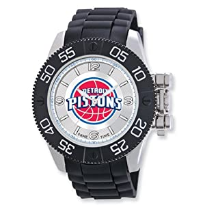 Mens NBA Detroit Pistons Beast Watch by Jewelry Adviser Nba Watches
