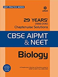 29 Years Biology Chapterwise Solutions for CBSE AIPMT & NEET