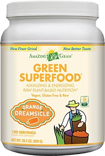 超级全面的绿色饮品,Amazing Grass 甜橙口味 有机养生食品 800g