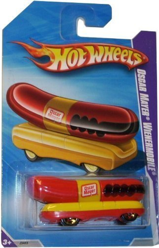 Hot-Wheels-Oscar-Mayer-Wienermobile-Henry-Ford-Museum-Exclusive-2009-164-Scale-3-Long-Collectible-Die-Cast-Car-by-Hot-Wheels