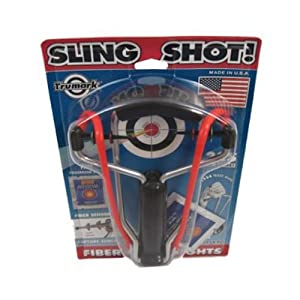 Trumark Slingshot with Fiber-Optic Sights