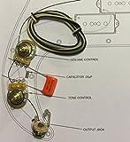 TAOT Wiring Kit - Fender Precision Bass P-Bass® - Orange Drop Cap