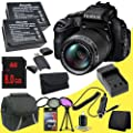 Fujifilm FinePix HS50EXR 16MP Digital Camera + Two NPW-126 Replacement Lithium Ion Battery� + External Rapid Charger + 8GB SDHC Class 10 Memory Card + 58mm 3 Piece Filter Kit + Carrying Case + SDHC Card USB Reader + Memory Card Wallet + Deluxe Starter Kit