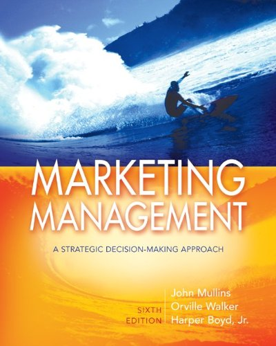 Marketing Management: A Strategic Decision-Making