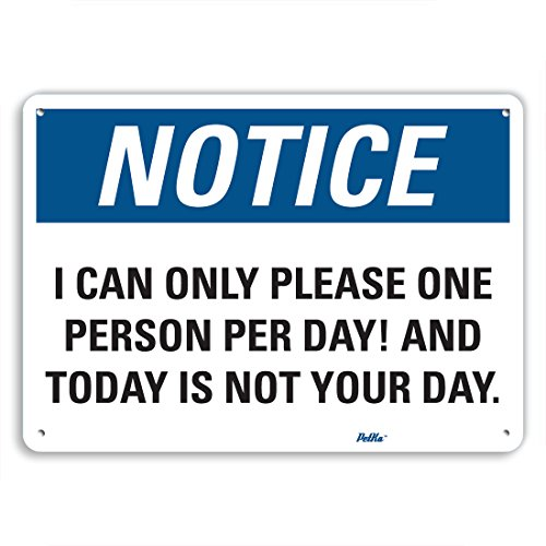 Petka Signs And Graphics Pkfo 0151 Na 14x10 I Can Only