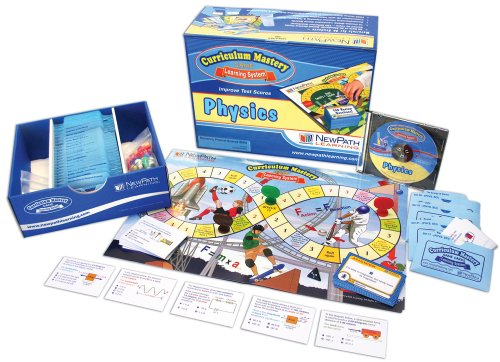 Newpath Learning Physics Review Curriculum Mastery Game, High School, Class Pack