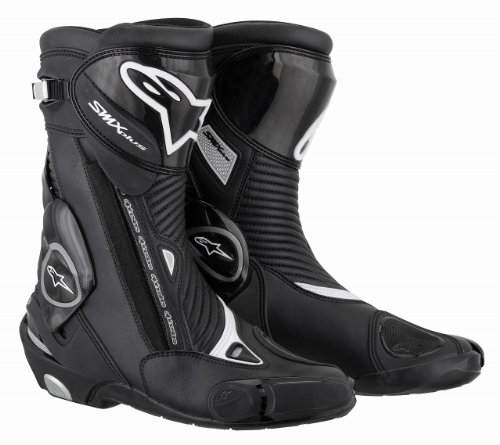Alpinestars Alpinestars S-MX Plus Boots , Distinct Name: Black, Size: 12.5, Gender: Mens/Unisex, Primary Color: Black 2221011-10-48