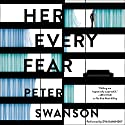 Her Every Fear: A Novel Audiobook by Peter Swanson Narrated by Eva Kaminsky