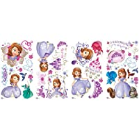 RoomMates RMK2294SCS Sofia The First Peel and Stick Wall Decals from York Wallcoverings