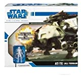Star Wars Clone Wars AT-TE (All Terrain Tactical Enforcer) Vehicle