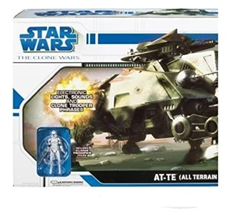Hasbro - 876292650 - Figurines - Clone Wars Vaisseau Deluxe At-Te 70Cm