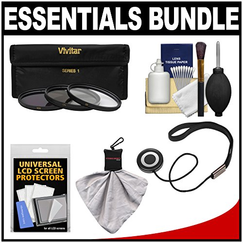Essentials Bundle For Samsung 50-200Mm F/4.0-5.6 Nx Ed Ois Iii Telephoto Zoom Lens With 3 (Uv/Cpl/Nd8) Filters + Accessory Kit