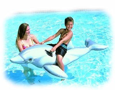 Intex - aufblasbares Reittier Delphin, 175cm bei aufblasbar.de