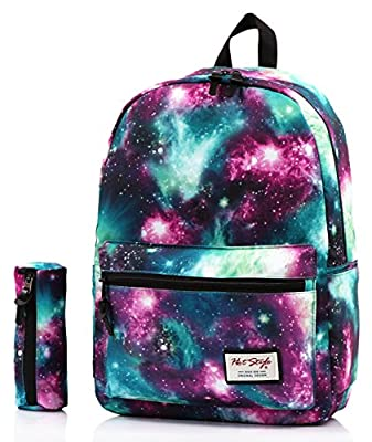 HotStyle TrendyMax Galaxy Pattern School Laptop Backpack Rucksack