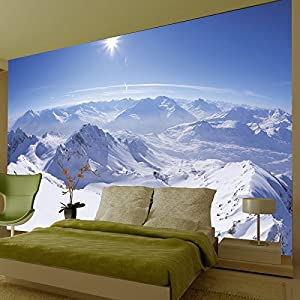 1wall wall mural mountain 002 wallpaper photo wall mural