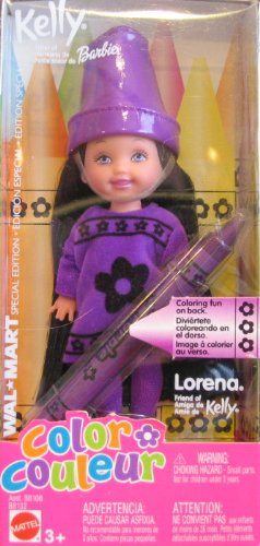 Barbie Kelly Lorena Color Doll: A Wal-Mart Special Edition Doll (2003)