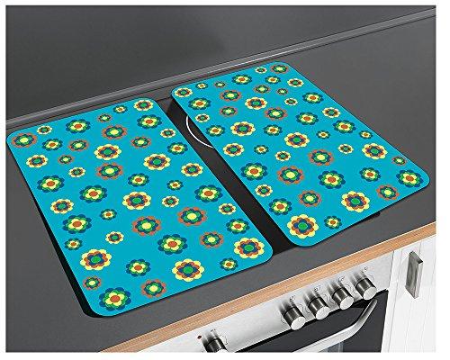 WENKO protège 2712958500 prilblume universel-lot de 2-verre trempé, 30 x 1, 8-4,5 x 52 cm
