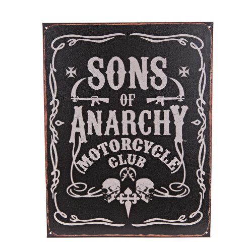 Sons of Anarchy Motorcycle Club Tin Sign [12.25