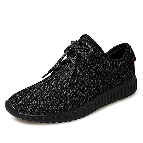 SITAILE Scarpe da Ginnastica Basse Uomo Sneaker,EU41,NERO ASSOLUTO