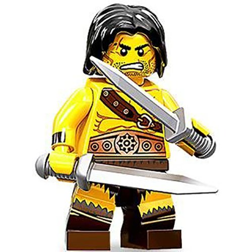 LEGO Minifigure Collection Series 11 LOOSE Mini Figure Barbarian - 1