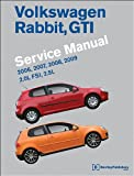 Volkswagen Rabbit, GTI (A5) Service Manual: 2006, 2007, 2008, 2009