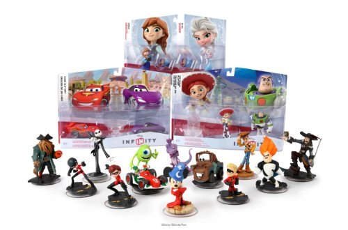 Exclusive Amazon Disney Infinity Infinite Bundle, With Sorcerer'S Apprentice Mickey Figure front-1046794