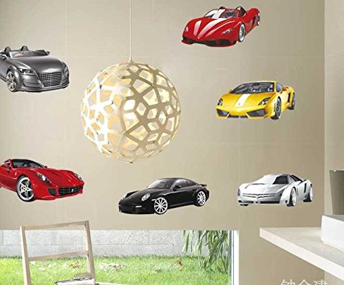 Children'S Dream Car Living Room Glass Stickers front-275432